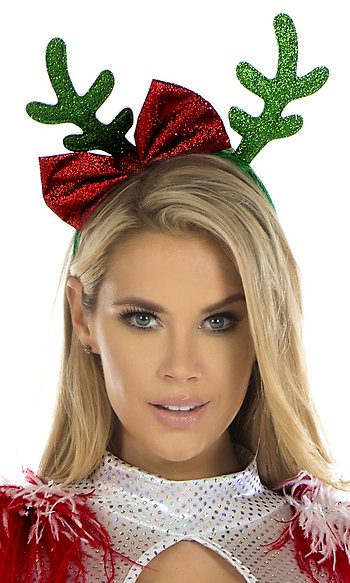 Reindeer Antler Headband By Forplay